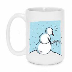 Кружка 420ml Snowman. It's Cold!