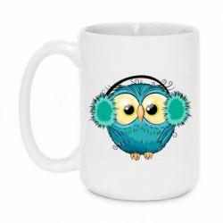 Кружка 420ml Winter owl