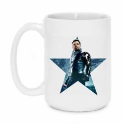 Кружка 420ml Winter Soldier Star