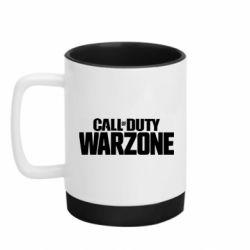 Кружка кольорова з силіконовим дном 320ml Call of Duty: Warzone