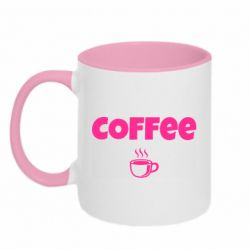 Кружка двухцветная 320ml COFFEE and Small Cup