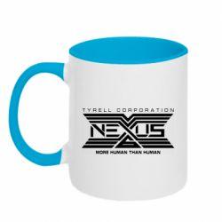 Кружка двоколірна 320ml NEXUS 6