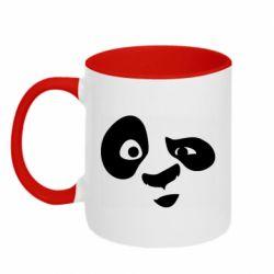 Кружка двоколірна 320ml Panda Po