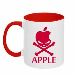 Кружка двухцветная 320ml Pirate Apple