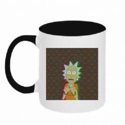 Кружка двухцветная 320ml Rick Fck Hologram