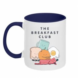 Кружка двоколірна 320ml The breakfast club
