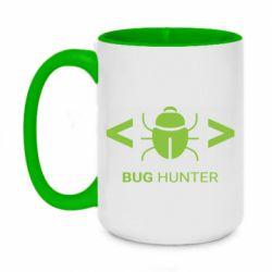 Кружка двоколірна 420ml Bug Hunter
