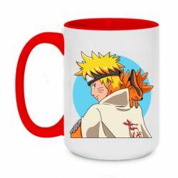 Кружка двоколірна 420ml Naruto Uzumaki Hokage