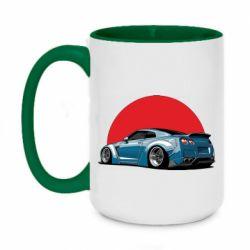 Кружка двухцветная 420ml Nissan GR-R Japan