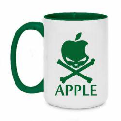 Кружка двухцветная 420ml Pirate Apple