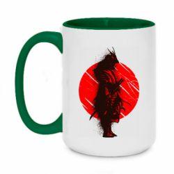 Кружка двоколірна 420ml Samurai spray