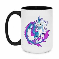 Кружка двоколірна 420ml Sisu Dragon Art