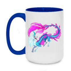 Кружка двоколірна 420ml Sisu Water Dragon