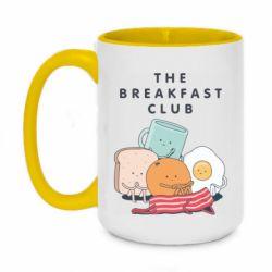 Кружка двоколірна 420ml The breakfast club