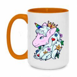 Кружка двоколірна 420ml Unicorn Princess