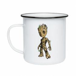 Кружка эмалированная Groot teen