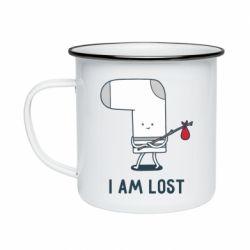 Кружка емальована I am lost