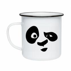 Кружка емальована Panda Po