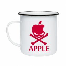 Кружка эмалированная Pirate Apple