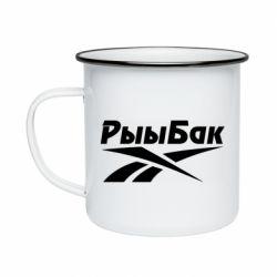 Кружка емальована Reebok РыыБак