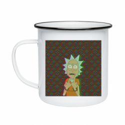Кружка эмалированная Rick Fck Hologram