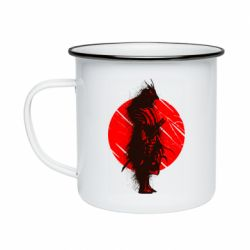 Кружка емальована Samurai spray