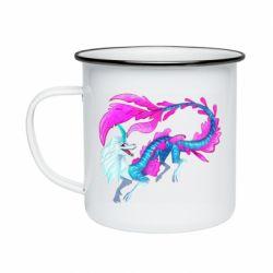 Кружка емальована Sisu Water Dragon