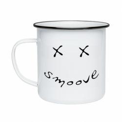 Кружка емальована Smoove