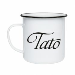 Кружка емальована Tato