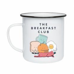 Кружка емальована The breakfast club