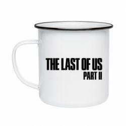 Кружка эмалированная The last of us part 2 logo