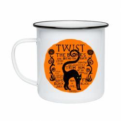 Кружка эмалированная TWIST