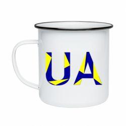 Кружка эмалированная UA Ukraine