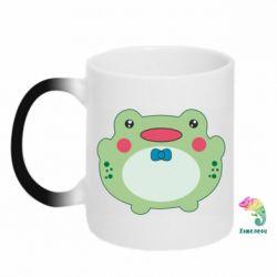 Кружка-хамелеон Baby frog
