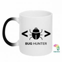 Кружка-хамелеон Bug Hunter