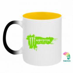 Кружка-хамелеон двокольорова Monster Energy Drink