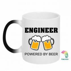 Кружка-хамелеон Engineer Powered By Beer