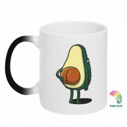 Кружка-хамелеон Funny avocado