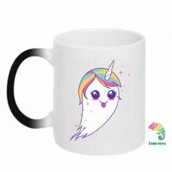 Кружка-хамелеон Ghost Unicorn
