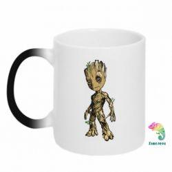 Кружка-хамелеон Groot teen