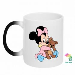 Кружка-хамелеон Minnie And Bear