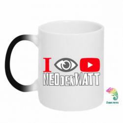 Кружка-хамелеон I Watch NEOdekWATT