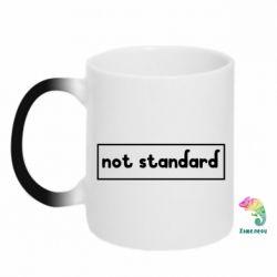 Кружка-хамелеон Not standard