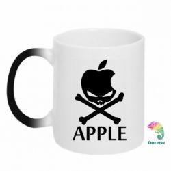 Кружка-хамелеон Pirate Apple