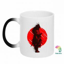 Кружка-хамелеон Samurai spray