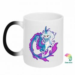 Кружка-хамелеон Sisu Dragon Art