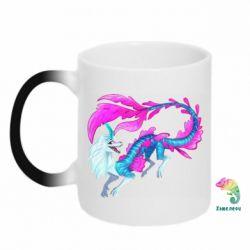 Кружка-хамелеон Sisu Water Dragon