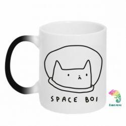 Кружка-хамелеон Space boi