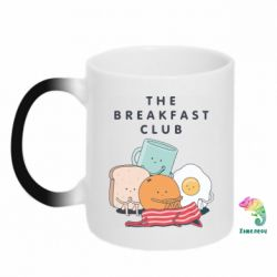 Кружка-хамелеон The breakfast club