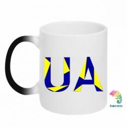 Кружка-хамелеон UA Ukraine